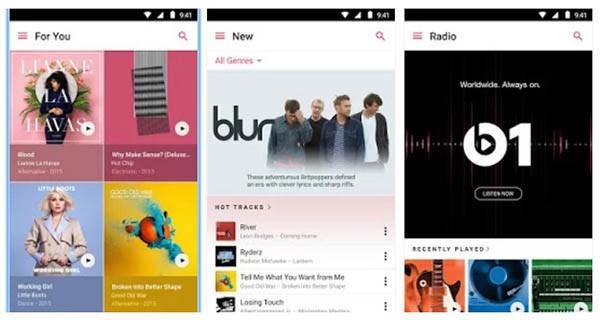 Apple Music su Android