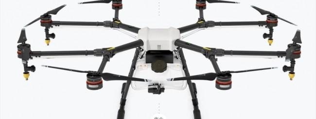 DJI annuncia un drone per l'agricoltura