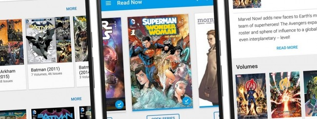 Fumetti e Google Play Libri