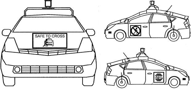 """Il brevetto """"Pedestrian Notifications"""" assegnato a Google per la self-driving car"""