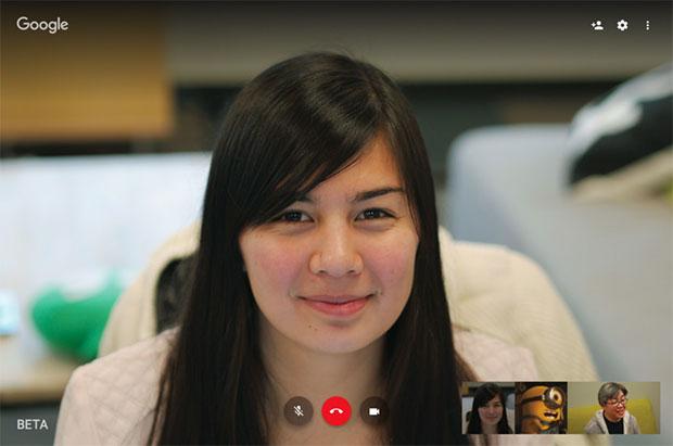 La nuova interfaccia Web per le videochiamate di Google Hangouts