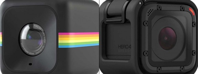 Polaroid Cube, GoPro HERO4 Session