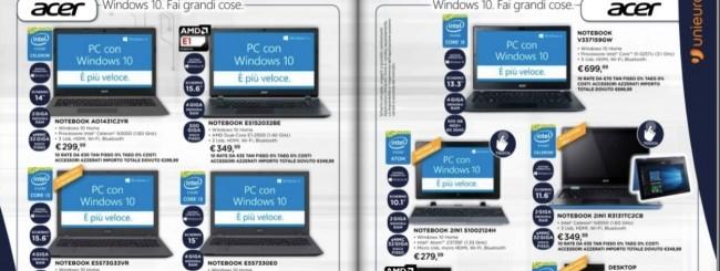 Unieuro porta a scoprire Windows 10