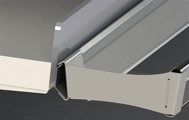 Il profilo progettato da Aerofoil Energy per i frigoriferi nella grande distribuzione