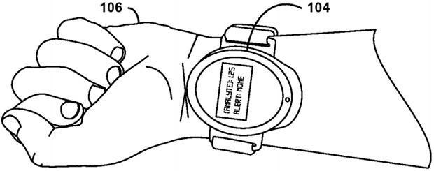 Il sistema descritto nel brevetto potrà essere integrato anche nei dispositivi indossabili
