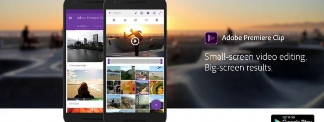 Premiere Clip per Android
