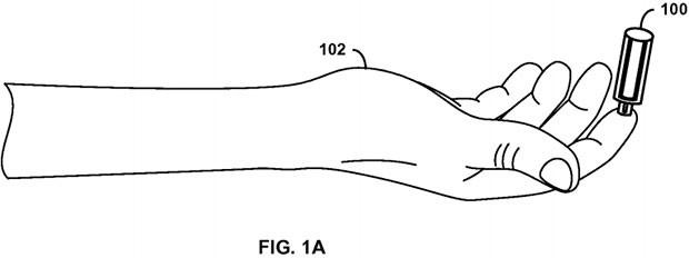 """Un'immagine dal brevetto """"Needle-free blood draw"""" di Google"""