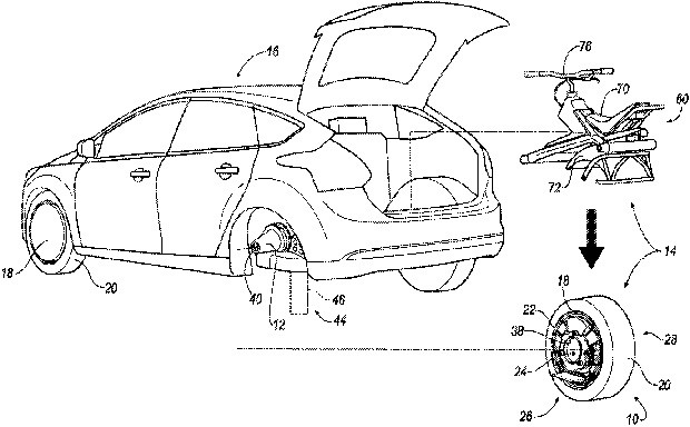 "Il brevetto ""Self-propelled unicycle engagable with vehicle"" depositato da Ford presso USPTO"
