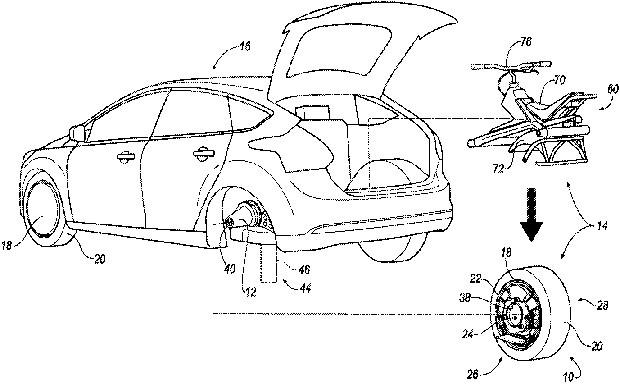"""Il brevetto """"Self-propelled unicycle engagable with vehicle"""" depositato da Ford presso USPTO"""