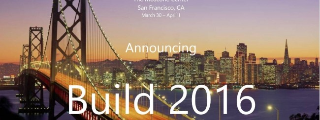 Microsoft annuncia Build 2016