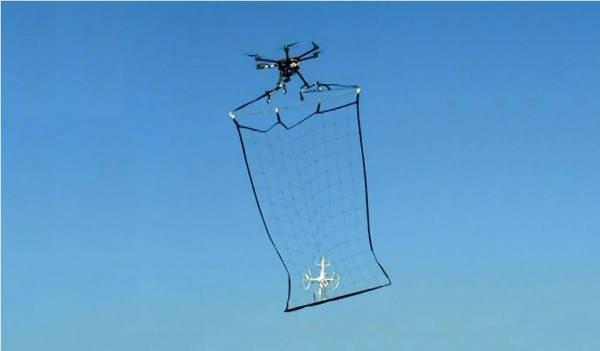 I droni si fermano con i droni