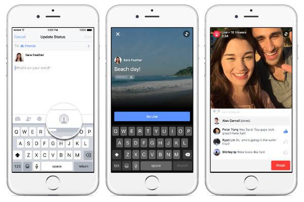 Facebook vuole offrire i live video a tutti