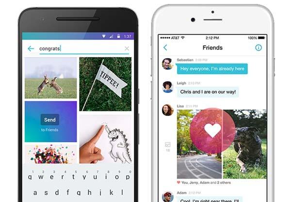 Il Messenger di Yahoo per smartphone (Apple o Android) ha diverse funzionalità, le principali riguardano l'inserimento di Gif animante nelle conversazioni e