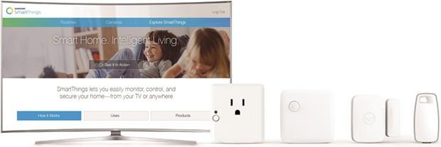 Alcuni dispositivi supportati dalla tecnologia SmartThings di Samsung