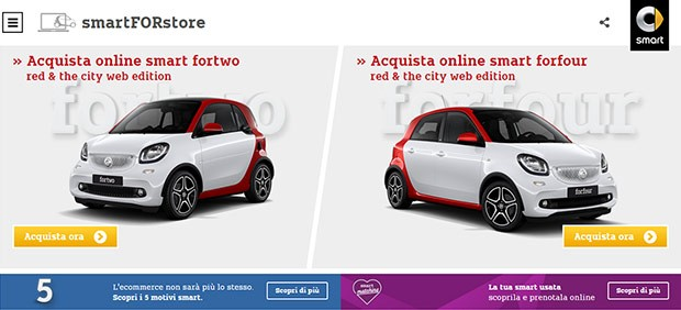smartFORstore, il primo e-commerce dell'ambito automotive