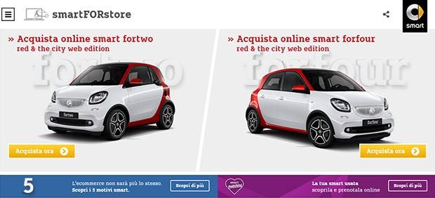 smartFORstore, il primo e-commerce dell'ambito automotive