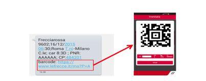 Trenitalia, partenze rapide con il codice digitale