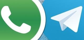 WhatsApp, Telegram