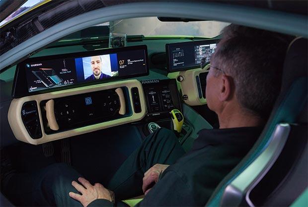 L'integrazione degli strumenti Microsoft a bordo dell'auto