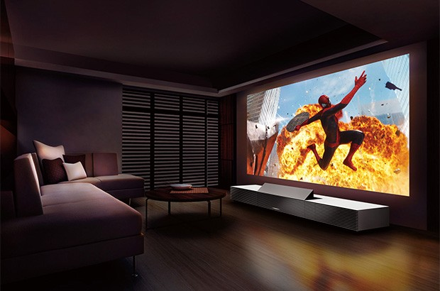 Il 4K Ultra Short Throw Projector di Sony