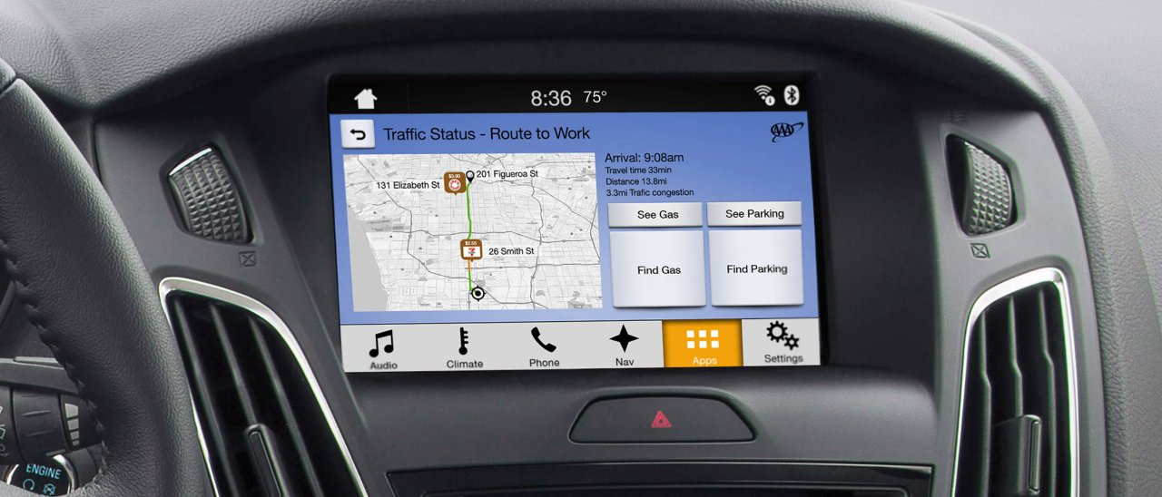 ford sync 3 parla con android auto e apple carplay webnews. Black Bedroom Furniture Sets. Home Design Ideas