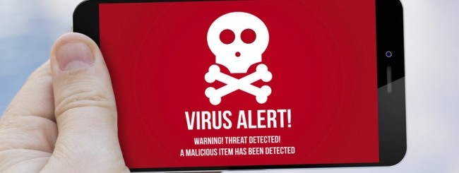Mobile virus smartphone