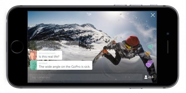 Periscope per iOS - GoPro