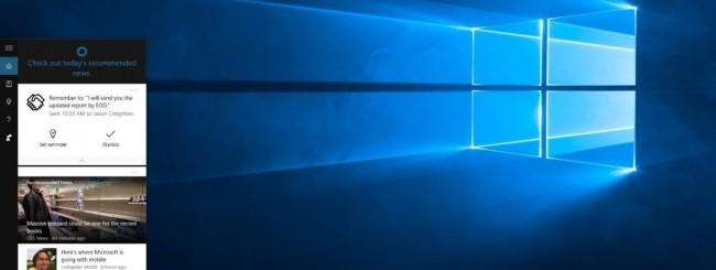 Windows 10 - Cortana reminder