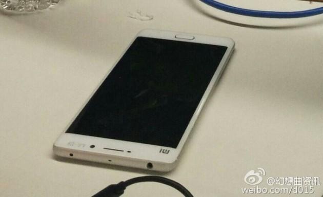 Prima immagine reale dello Xiaomi Mi 5