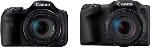 Canon PowerShot SX540 HS e Canon PowerShot SX420 IS