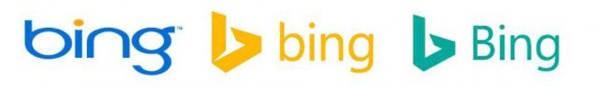 L'evoluzione del logo Bing