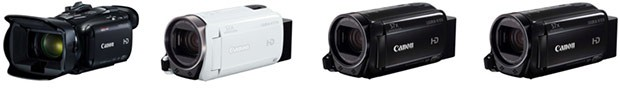 Canon Legria HF G40, Legria HF R706, Legria HF R76, Legria HF R78