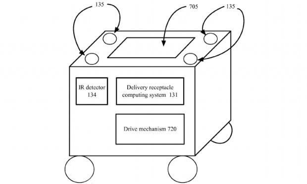 Uno schema estratto dalla documentazione del brevetto