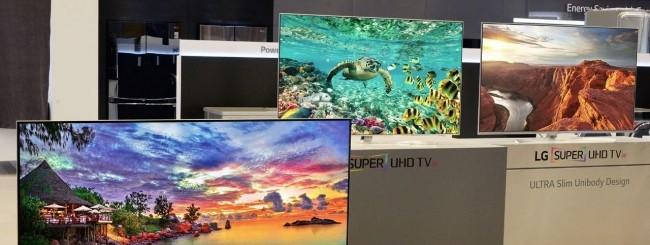 CES 2016, LG annuncia le nuove TV SUPER UHD