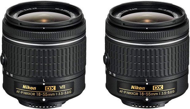 AF-P DX NIKKOR 18-55mm f/3.5-5.6G VR e AF-P DX NIKKOR 18-55mm f/3.5-5.6G