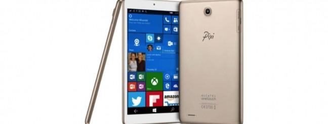 CES 2016: da Alcatel un tablet Windows 10 Mobile