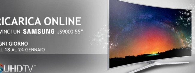 Wind, ogni ricarica può valere un TV Samsung