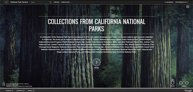 La collezione California National Parks
