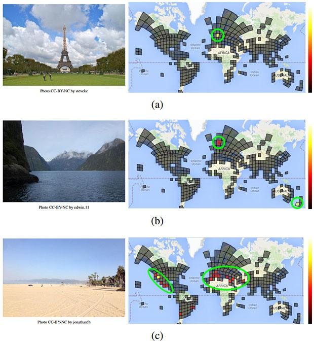 La geolocalizzazione delle immagini tramite il sistema PlaNet di Google