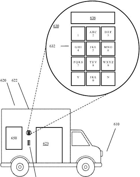 Un'immagine dal brevetto depositato da Google