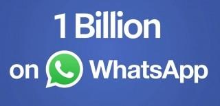 Un miliardo di persone su WhatsApp