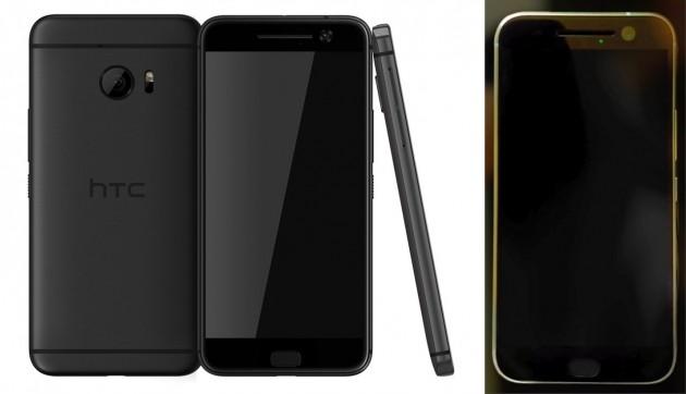 Press render (sinistra) e immagine reale (destra) del nuovo HTC Perfume.