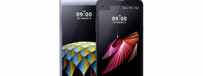 LG X cam e X screen