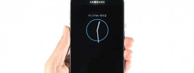 Samsung Galaxy S7 - Always-On display