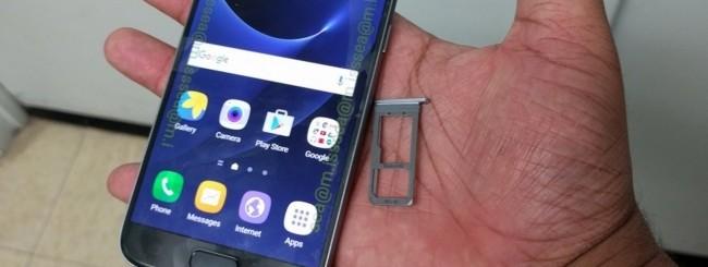 Samsung Galaxy S7 - slot microSD