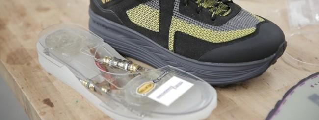 Shoe battery