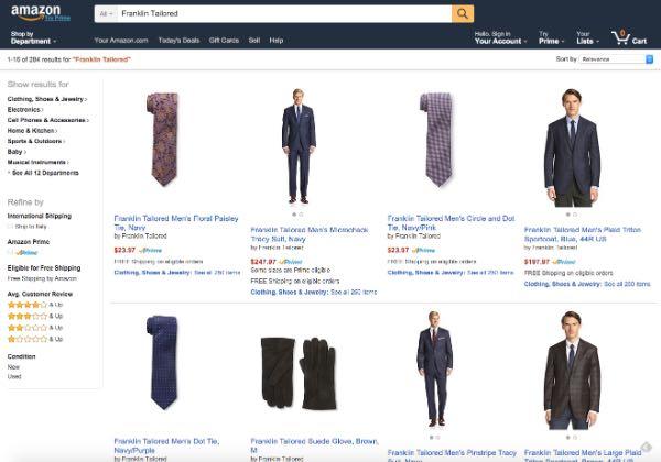 Amazon si lancia nella moda