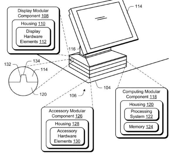 Microsoft brevetta un computer modulare