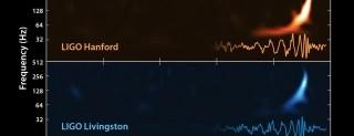 Il suono della collisione tra due buchi neri
