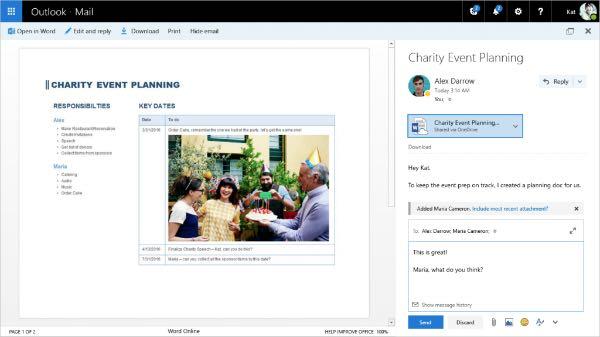 Outlook.com, nuovo look e nuove funzionalità